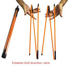 Foldable Golf Direction Stick Training Aid Equipment Sports Golf Alignment Stick