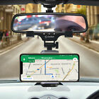 Universal Car Rearview Mirror Phone Mount with 360 ° Rotating Cradle Adjustable