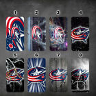 Columbus Blue Jackets iphone 11 11 pro max galaxy note 10 10 plus wallet case $18.99 USD on eBay