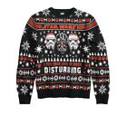 "Men's Star Wars ""Lack of Cheer"" Darth Vader Ugly Christmas Sweater $22.97 USD on eBay"