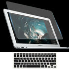 Tempered Glass Screen Protector Keyboard Cover for MacBook Air 13 A1932 Touch ID