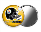 PITTSBURGH STEELERS FOOTBALL TEAM PURSE POCKET HAND MIRROR SPORTS FAN GIFT IDEA $12.49 USD on eBay
