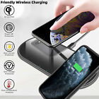 For iPhone 11 Pro Max 3 in 1 Wireless Charger Dual Fast QI Charging Dock Stand