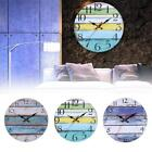 Wall Clock Decal Stickers  Pastoral Round Stripe DIY Wall Unique Modern Home