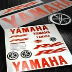 Full Sticker&Emblem Fairing/Fender Vinyl Graphic Kit Yamaha YZF-R6 Red+Chrome image