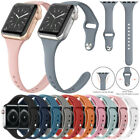 For Apple Watch Series 5/4/3/2 Replacement Silicone Soft Sport iWatch Band Strap image
