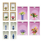 Diy Removable 3d Flower Vase Home Decal Living Room Decoration Wall Sticker