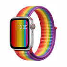For Apple Watch Series 5/4/3/2 Nylon Sport Loop iWatch Band Strap 44/42/40/38mm