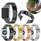 Wrist Band Strap Alloy Stainless Steel Bracelet For Apple Watch iWatch 1 2 3 4 5 image