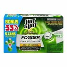 4 Can Hot Shot INDOOR FOGGER Bug Bomb Insect Killer Tick Roach Ant Spider Flies