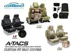 A-TACS Camo Tactical Cordura Ballistic Front Seat Covers for Chevy Silverado