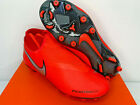 NIB SIZES 5.5 8.5 MEN Nike Phantom VSN Academy DF FG/MG Soccer Cleat CRIMSON NEW