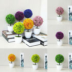 Artificial Bonsai Plant Indoor Fake Guest-Greeting Round Plastic Tree Home Decor