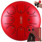 6inch Steel Tongue Drum Handpan 8 Notes Tune Percussion Drum with Bag Mallets