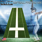 Secondary Elite Softball Pitching Mat, 3x10, Green, No Pitching Rubber