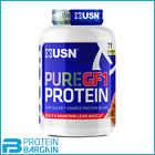 USN Pure GF-1 Protein Low Carb 2kg Low Sugar 7 Source Protein Blend New Formula
