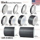Carbon Fiber Black Roll Pinstriping Pin Stripe Car Motorcycle Tape Decal Sticker