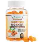 Turmeric Gummies Highest Potency Chewable Anti Inflammatory Gummy with Ginger