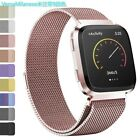 For Fitbit Versa 2/Versa/Versa Lite/SE Metal Milanese Stainless Steel Watch Band image