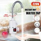 220V 3000W Electric Faucet Instant Hot Water Tap Heater Home Kitchen Bathroom