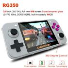 """3.5"""" RG350 IPS Handheld Game Console Portable Video Game Player 32GB Memory Card"""