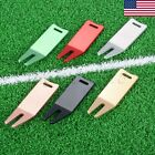 US Golf Divot Repair Tool Ball Score Marker Putting Fork Pitch Cleaner Tool