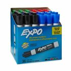 Expo 1921061 Low Odor Dry Erase Markers,  Assorted - 36 Count