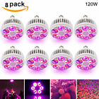 120W Full Spectrum Potted Indoor Plant Veg Flower LED Grow Light Bulb Hydroponic