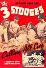 67734 Three Stooges Calling All Curs Movie urly Howard Wall Print POSTER UK