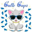 Cutie Caps 40 pack Royal Blue Glitter Soft Nail Guard for Cat Paws / Claws