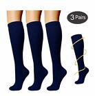 Women Stockings Running Medical Socks Calf Compression Sports Feet Support 1Pair