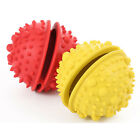 Natural Rubber Dog IQ Treat Ball Bouncy Tooth Cleaning Toy for Playing