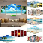 Home Family Decoration Painting Sunset Sea Mural Ornaments Hanging Paintings Uk