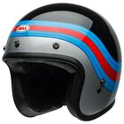 Bell Custom 500 DELUXE Motorcycle Helmet - PULSE Black / Blue / Red