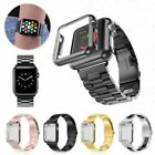 For Apple Watch Series 5/4/3 Stainless Steel Wrist iWatch Band 38/42 Case Cover image