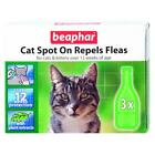 Beaphar Flea & Tick Drops Spot On Cat & Kittens over 12 Wks Old 12 Wk Protection