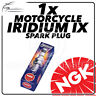 1x NGK Upgrade Iridium IX Spark Plug for HONDA 125cc CR125R D-S/T/V #3981