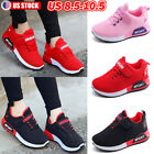 Kids Sneakers Lace Up Mesh Running Breathable Sport Shoes Tennis Boys Girls 2 6Y