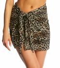 Miraclesuit Purr-fection Cover Up Tie Side Sarong New