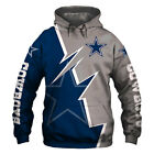2019 Dallas Cowboys Hoodie Hooded Pullover Sweatshirt S-5XL Football Team Fans $29.44 USD on eBay