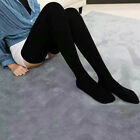 Fashion Women Winter Cable Knit Over knee Long Boot Thigh-High Socks Leggings