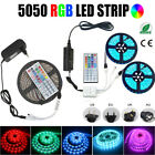 LED Strip Light 5050 RGB 5M/10M/15M 2835 Flexible Ribbon RGB Stripe tape kit 12V