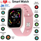 Waterproof Bluetooth Smart Watch Women Girls Heart Rate Bracelet For IOS Android