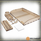 TTCombat Paint Storage Racks Suitable for Army Painter Vallejo Tamiya Citadel