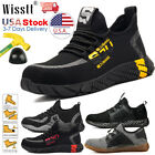Kyпить Mens Work Safety Shoes Steel Toe Boots Indestructible Bulletproof Light Hiker US на еВаy.соm
