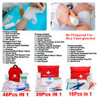 3 Types First Aid Kit Bag Emergency Medical Survival Treatment Rescue Empty Box