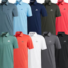 adidas Golf Ultimate 2.0 Solid Mens Short Sleeve Polo Shirt UV 50+ / NEW 2020