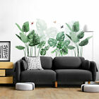 Cw_ Tropical Leaves Green Plant Wall Stickers Vinyl Decal Living Room Art Mural