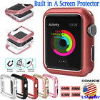 Magnetic Metal Bumper Case For Apple Watch iWatch Series 5/4/3/2/1 38 40 42 44mm image