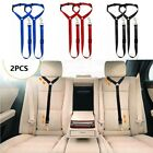 2PCS Car Safety Seat Belt Restraint Harness Leash Travel Clip for Pet Dog Cat US
